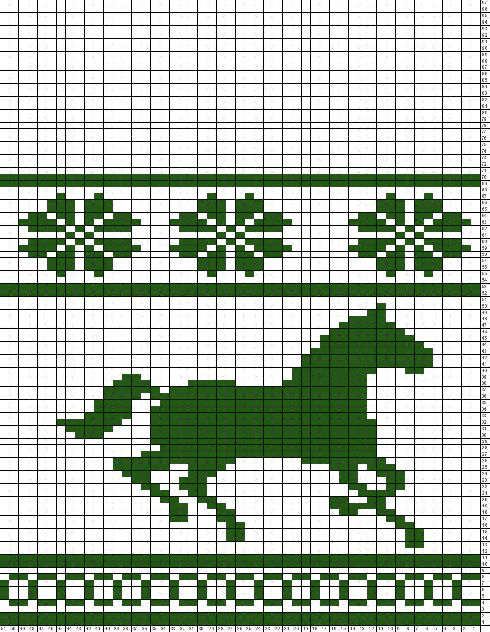 Tricksy Knitter Charts: Barn Hat copy | KNITTING CHARTS | Pinterest ...