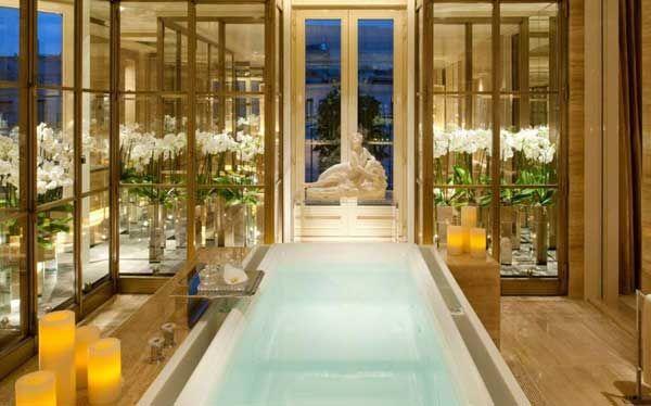 10 mejores hoteles con baño de lujo - Hoteles exclusivos - baos de lujo