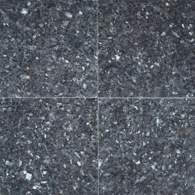 Msi Blue Pearl 12 In X 12 In Polished Granite Wall Tile 10 Sq Ft Case Tbp1212 Granite Tile Granite Wall Tiles Blue Pearl
