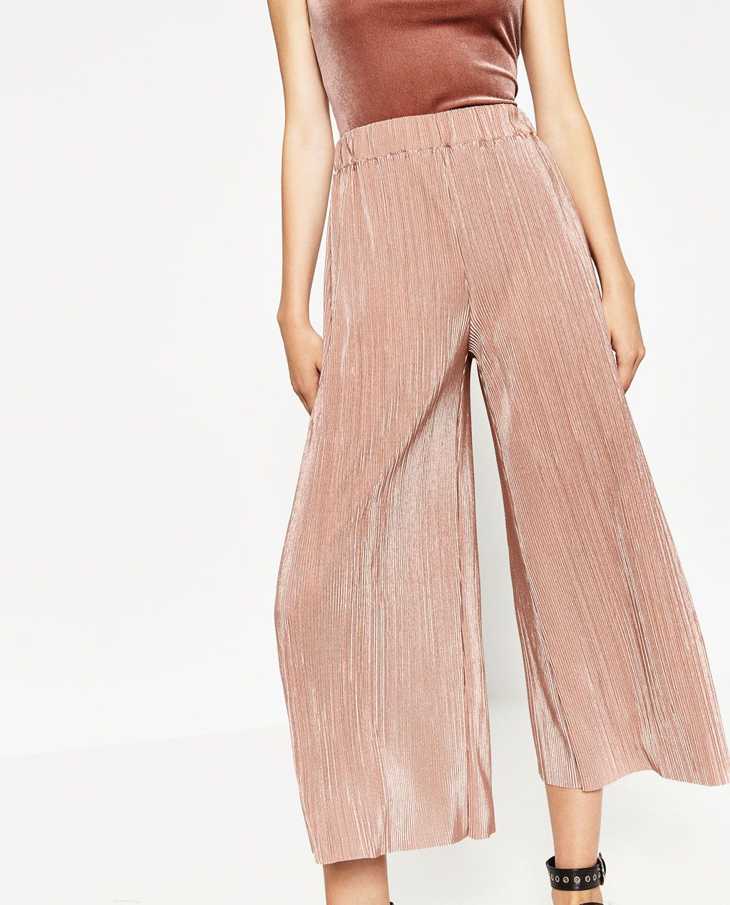 132d8a6a PLEATED TROUSERS-View all-TROUSERS-WOMAN | ZARA United States ...