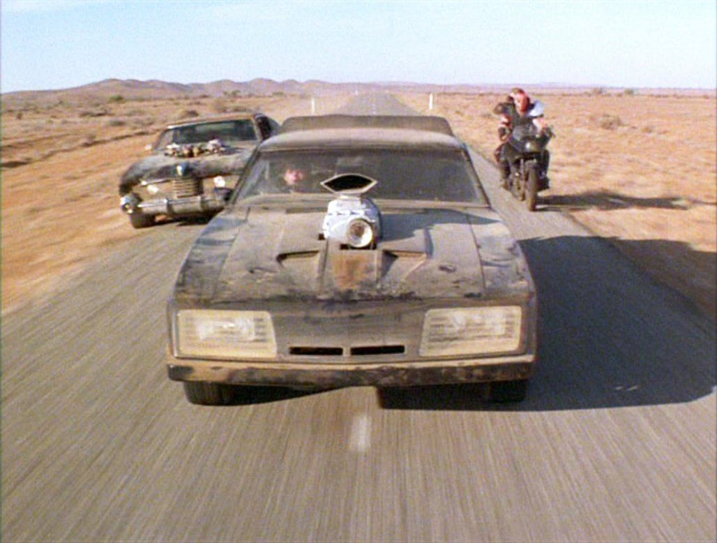Mad Max The Road Warrior Car Chase 1 by MALTIAN on DeviantArt   The road  warriors, Mad max, Car max