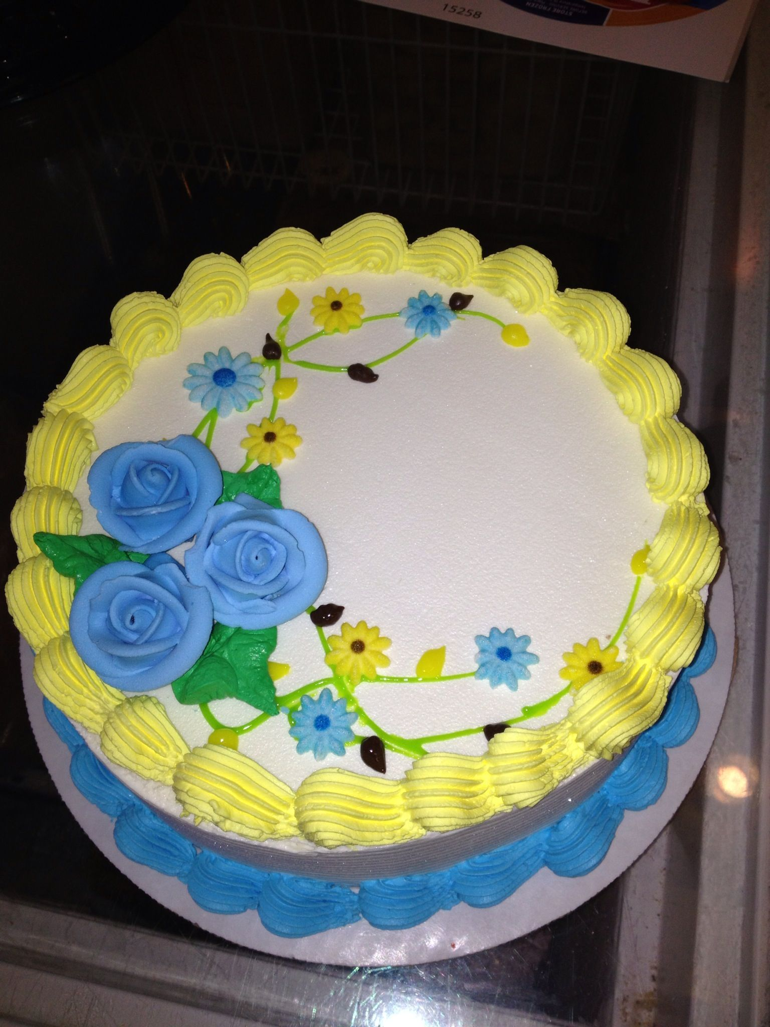 Dairy Queen Sheet Cake Designs : Roses/ flowers...Dq cakes...Dairy Queen Cakes ...