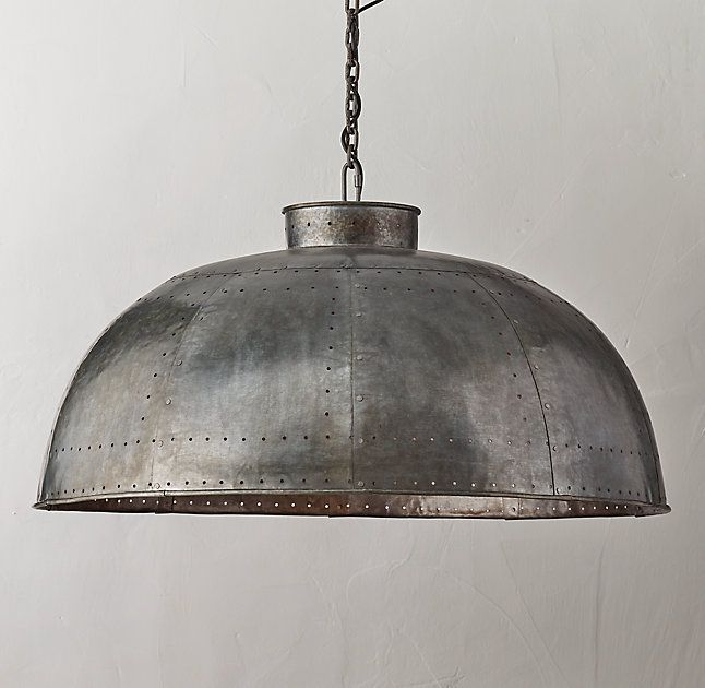 Industrial Dome Large Pendant Dome Pendant Lighting Industrial