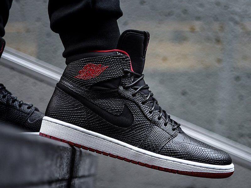 Air Jordan 1 Retro High Nouveau Lsquo Snakeskin Rsquo Via Kicks