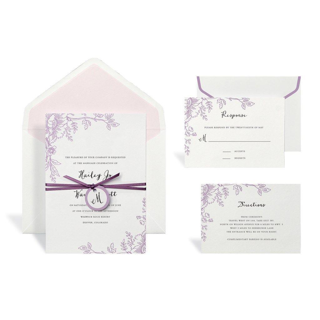 Brides Wedding Invitation Kit: I Love This Wedding Invitation Kit.... An Inexpensive Way
