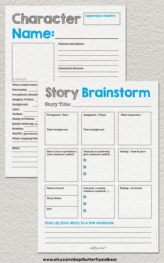 5 Content Marketing Tools To Drive Traffic and Sales – Protagonist and Antagonist Worksheet