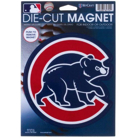 """WinCraft Chicago Cubs 6"""" Die Cut Magnet"""