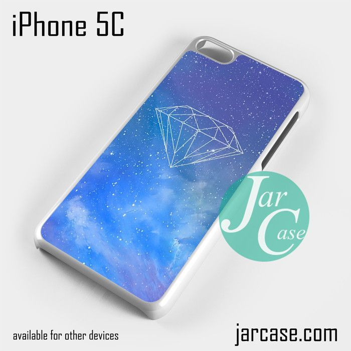Galaxy Diamond Phone case for iPhone 5C and other iPhone devices