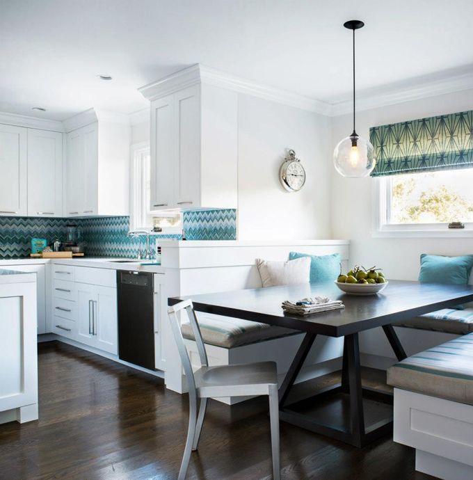 Cocina moderna con área de comedor incluida | Comedores y Cocinas ...