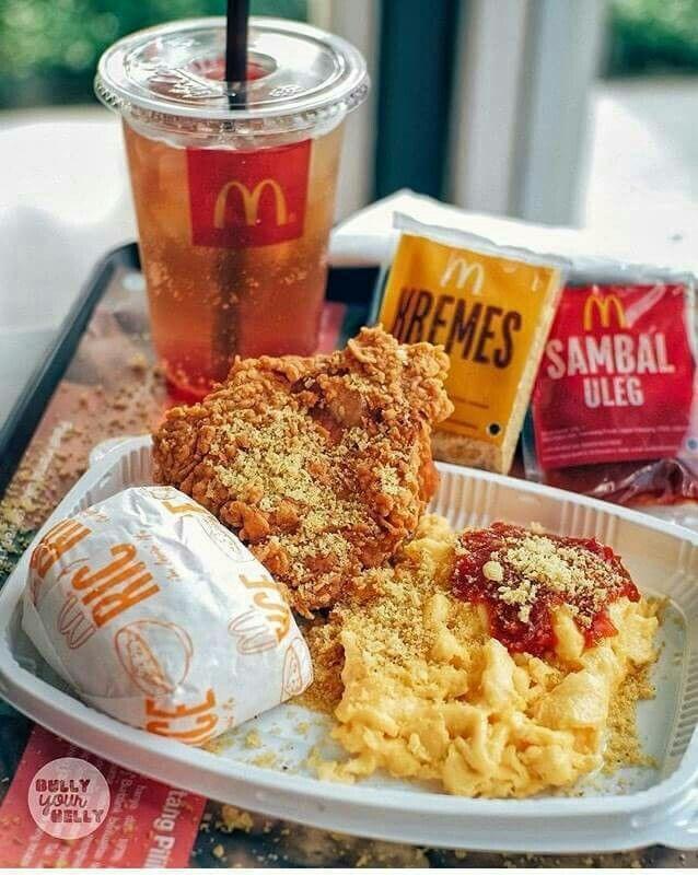 Ayam Mcd Makanan Dan Minuman Makanan Ayam Goreng
