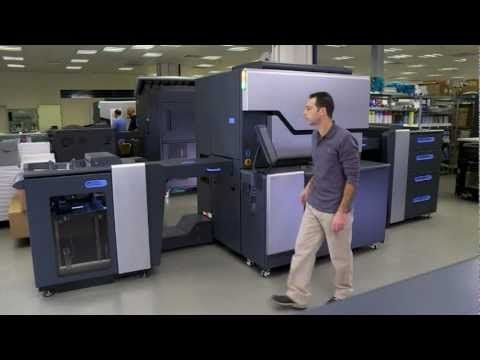 The new HP Indigo 7600 Digital Press - La tecnología HP