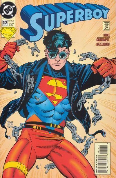 Image result for superboy reign of superman 1994