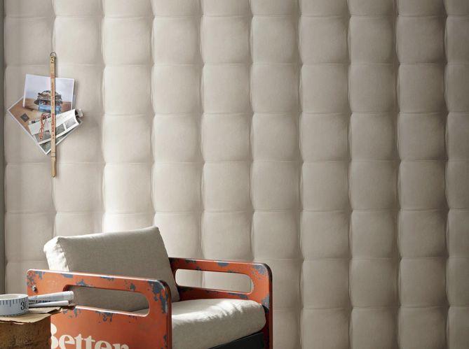De La Texture Et Du Relief Au Mur   Elle Dcoration  Capitonnage