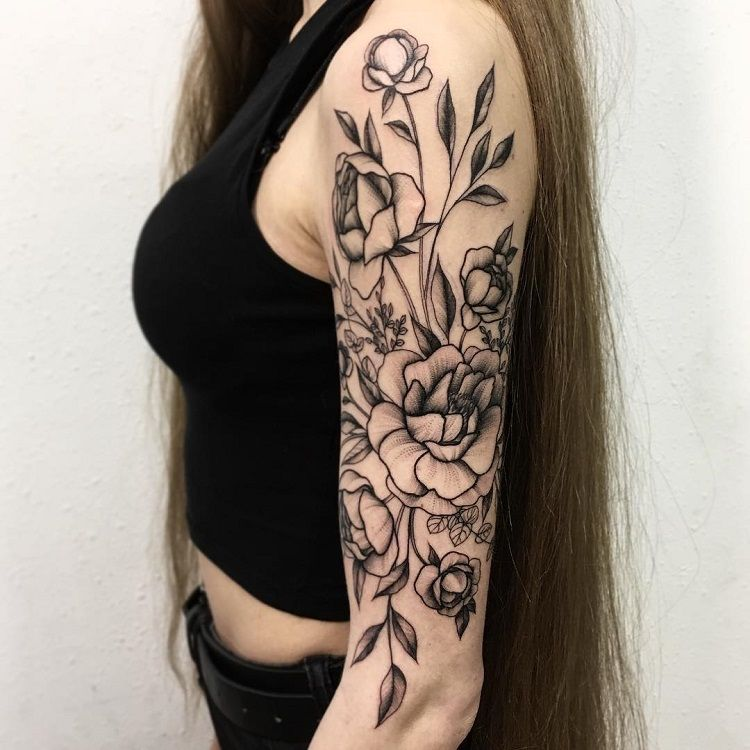 chicago tattoo artists floral