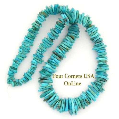 slice turquoise beads inch corners freeform four kingman designer pin strand online usa graduated