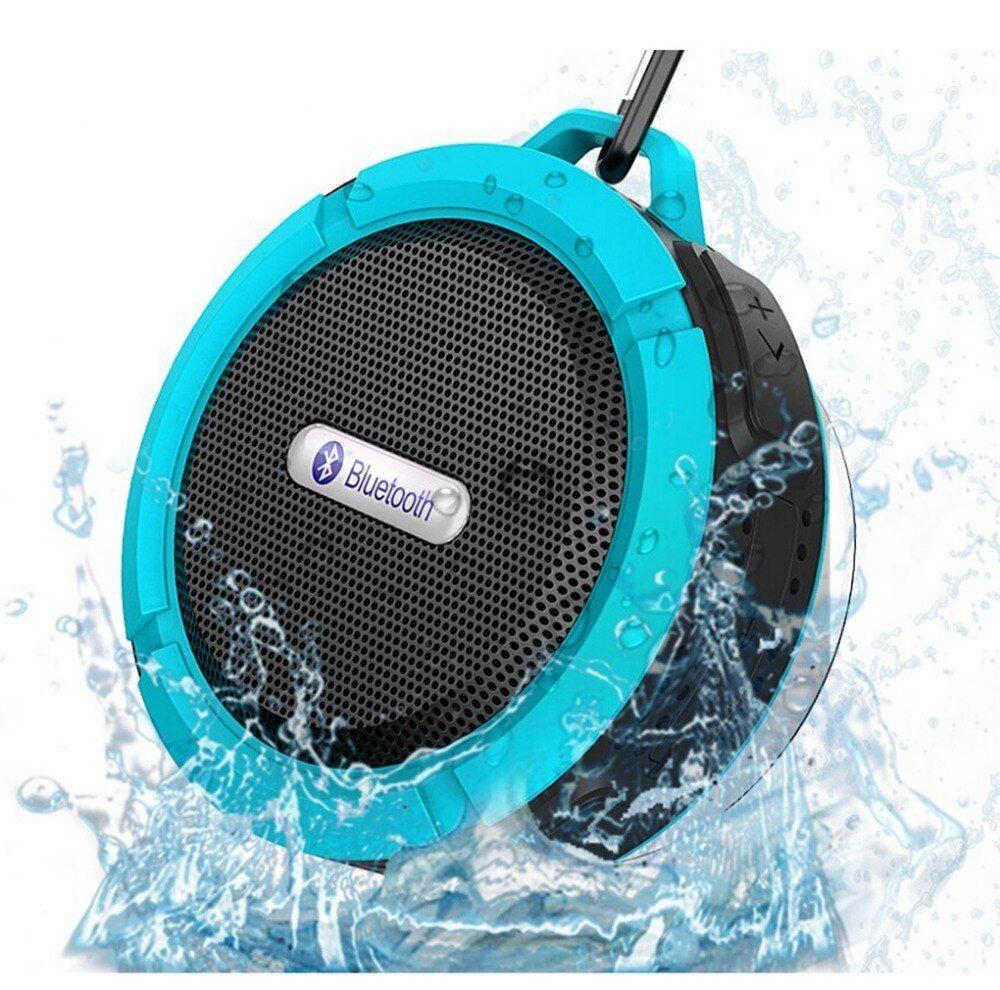 Waterproof Wireless Bluetooth Portable Stereo Music Speaker Car Shower Travel
