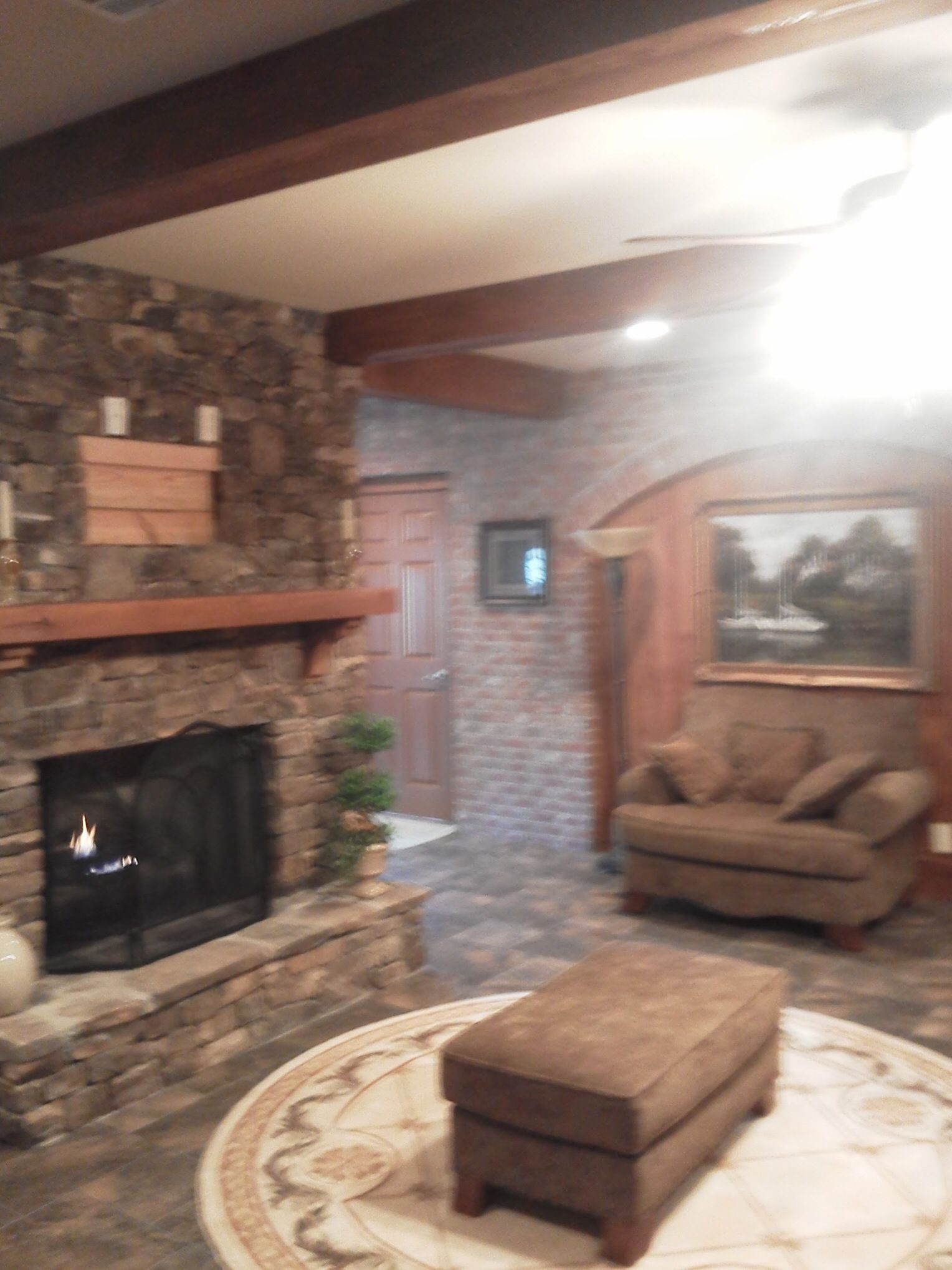 S&P Masonry #fireplace #stonework #stone #brickwork #mason #brickarches