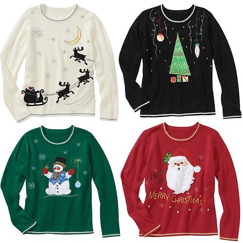 White Stag Christmas Sweater Choose Your Favorite Style Women