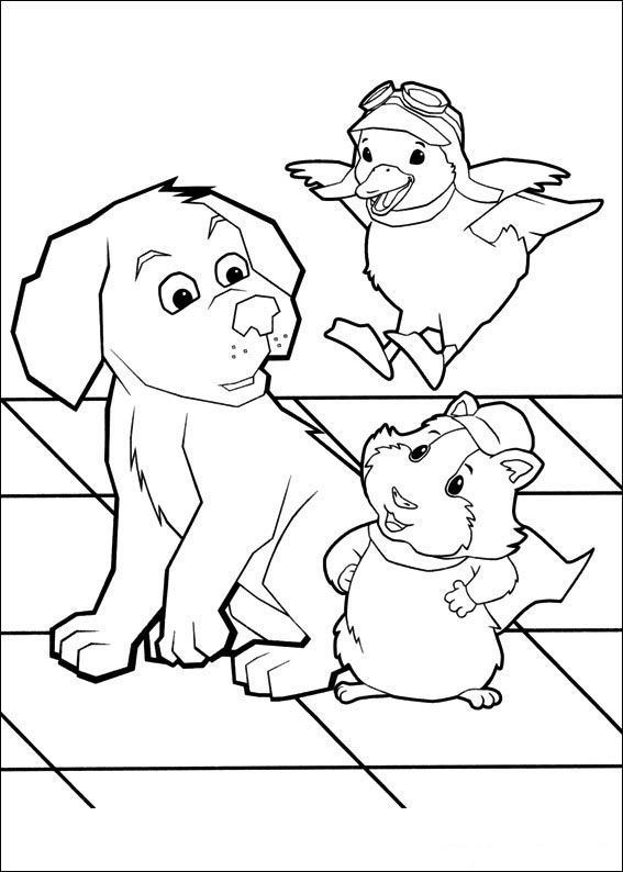 Wonder Pets Coloring Pages 4 Wonder Pets Animal Coloring Pages
