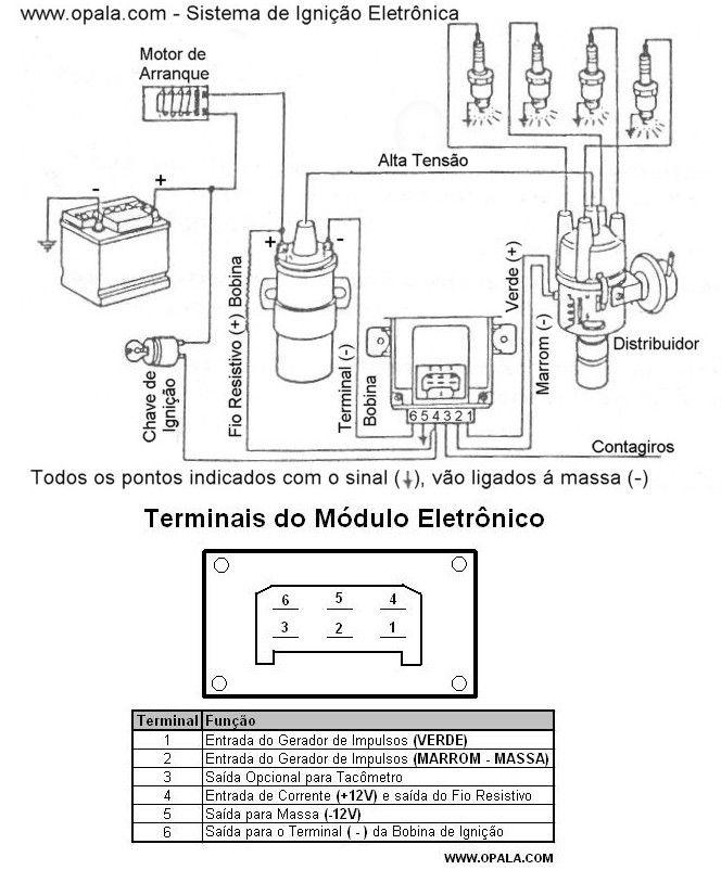 Eletr U00f4nica Epaulino  Diagrama De Liga U00e7 U00e3o Do M U00f3dulo De Igni U00e7 U00e3o Do Carro
