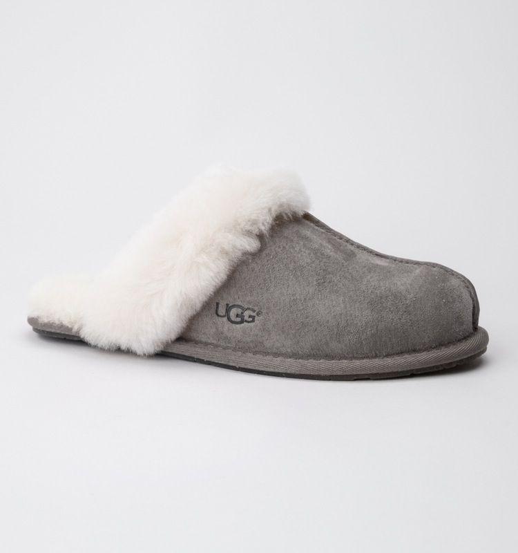 UGG W Scuffette II Stormy Grey slippers