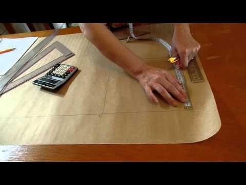 Modelagem de calça básica feminino. Aula 56 - YouTube