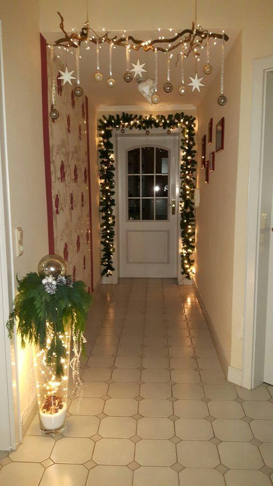 Suchen Sie originelle Weihnachtsdekorationen für im Haus? Hängen Sie es an die Decke! #christmasdecor