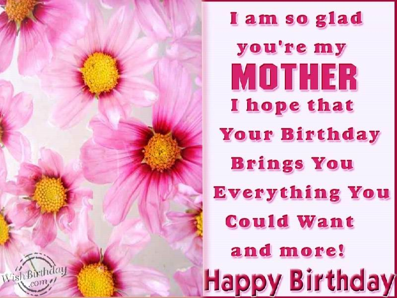 birthday wishes for mother birthday images pictures mom
