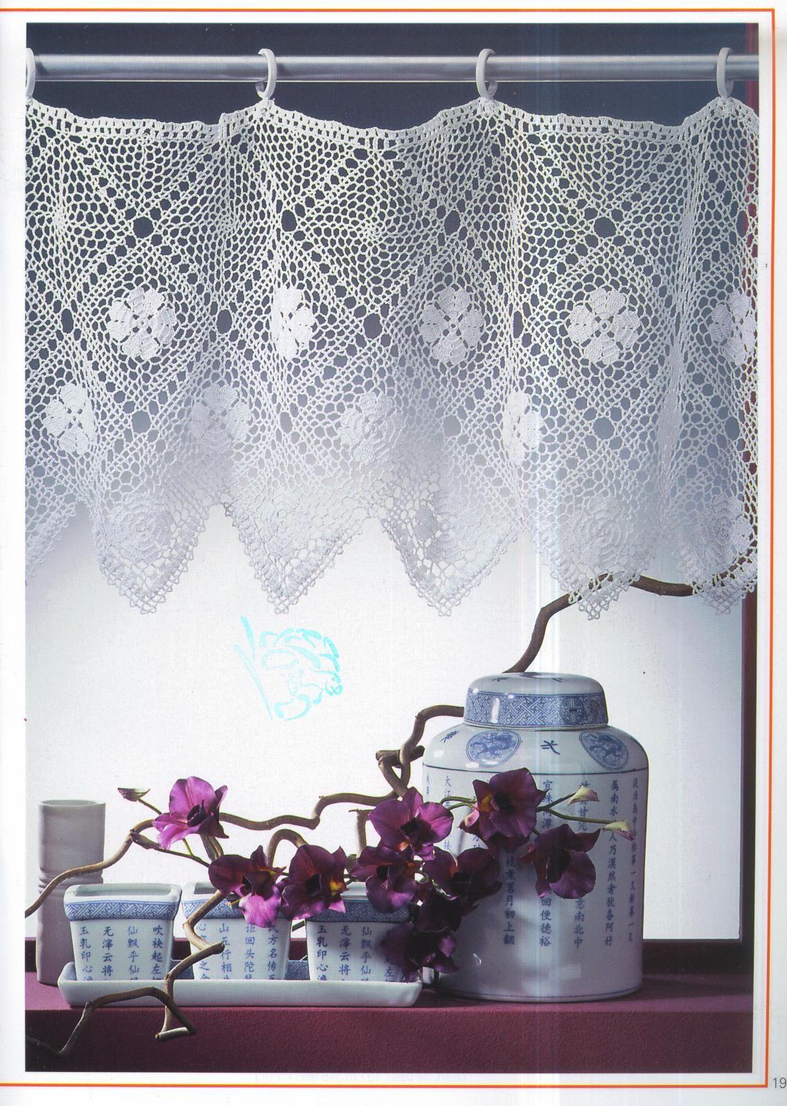 media+cortina+de+crochet+1.jpg (1136×1596) | crochet | Pinterest ...