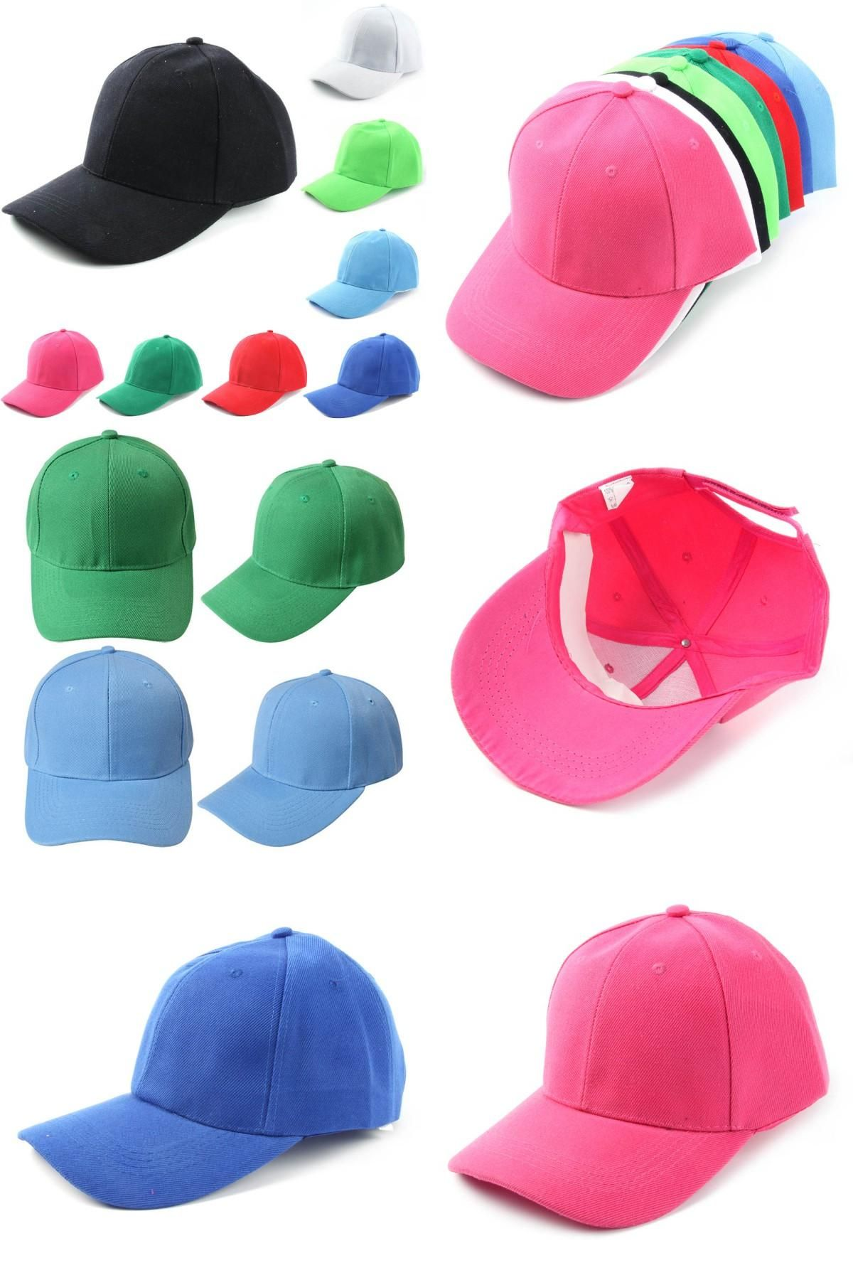 Visit to Buy  Fashion Unisex Plain Solid Cotton Baseball Cap Blank Hat  Washed Cotton e91867b4138