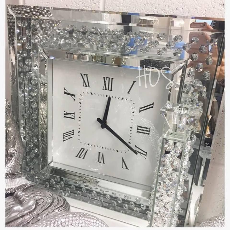 Large Roman Big Vintage Black Skeleton Wall Clock 120cm Diameter Large Black Wall Clock Black Wall Clock Wall Clock