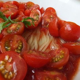冷製イタリア麺 赤