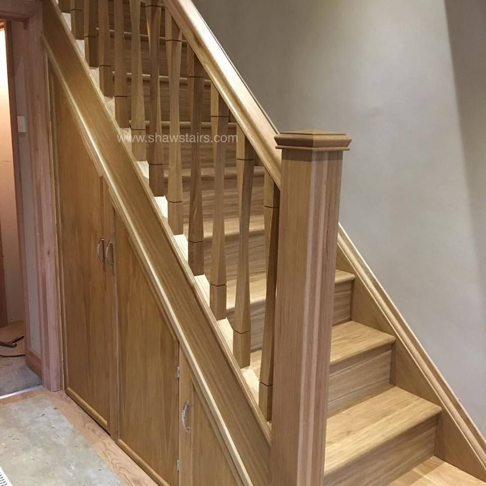 Last Fitting Job Before Christmas We Removed An Existing Staircase Doors And Frames To Replace With A New Conte Staircase Design Home Stairs Design Staircase