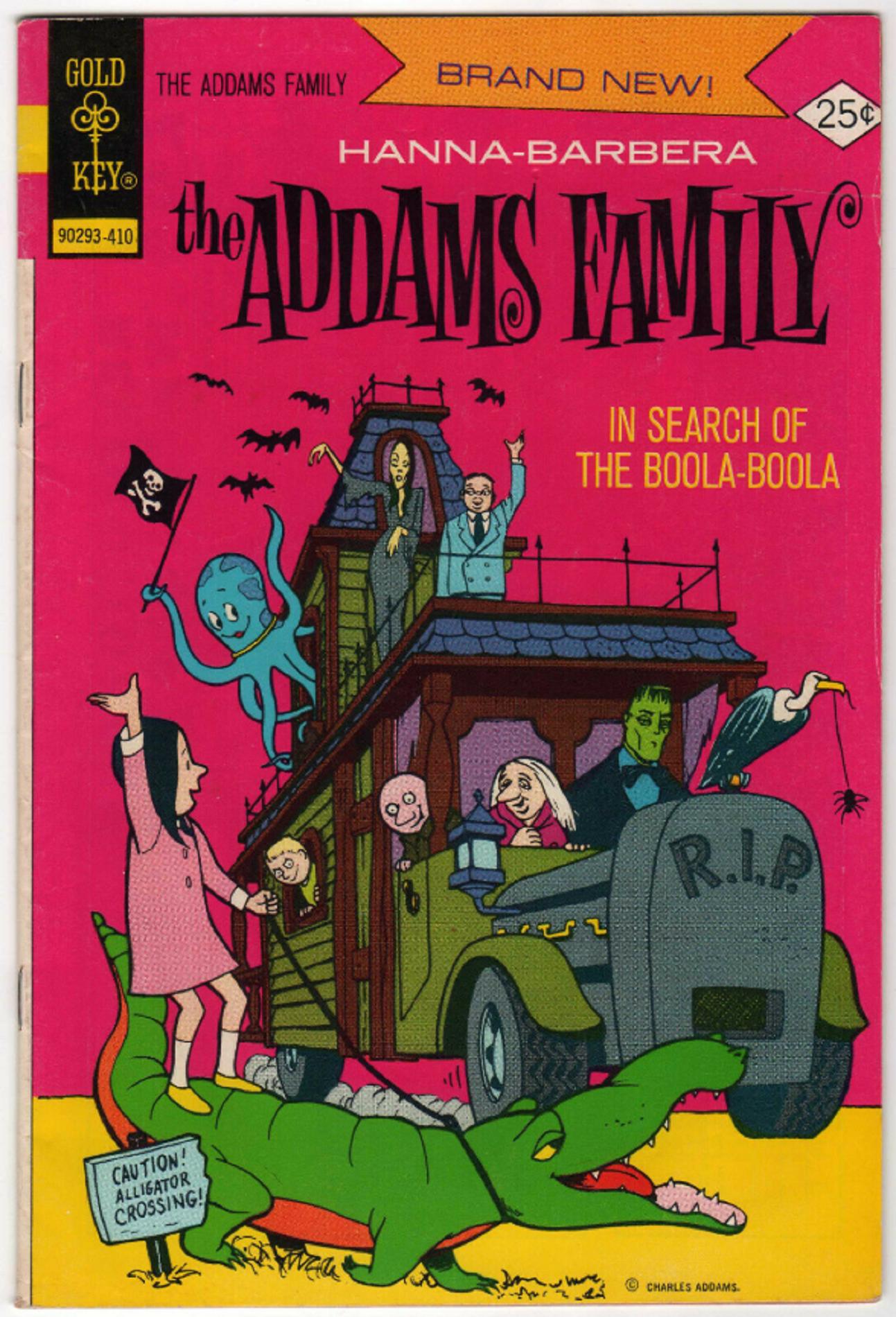 The Adams Family 1 October 1974 Bill Ziegler C A Addams Family Cartoon Addams Family Family Cartoon
