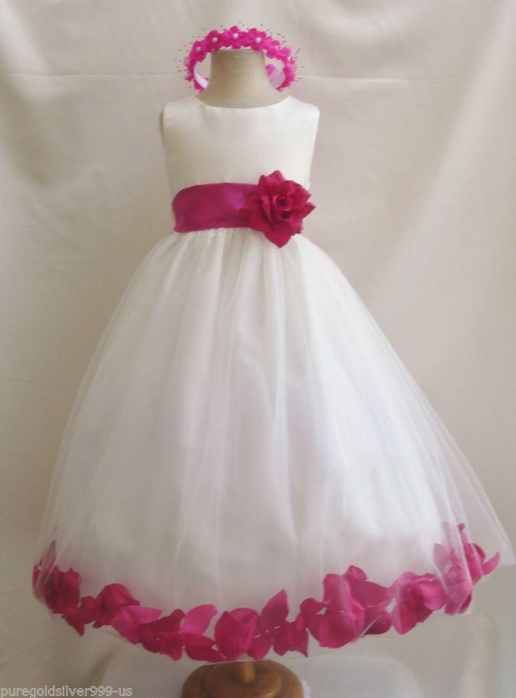 Pinterst Toddler Flower Girl Dresses