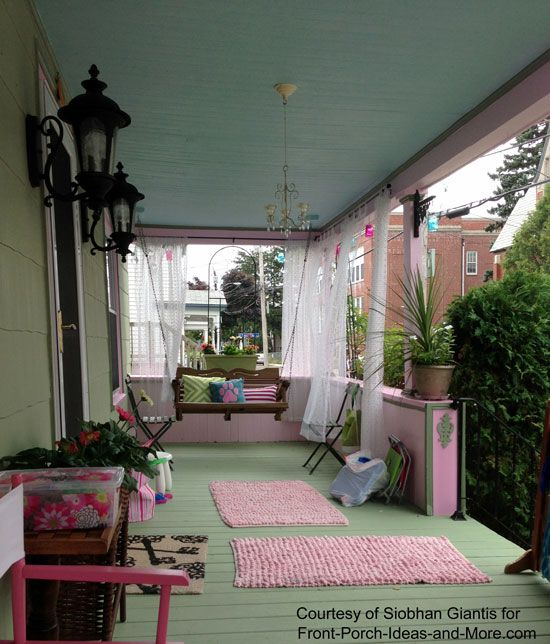 Outdoor Curtains Home Sweet Home Pinterest Porch Curtains
