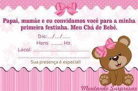 Resultado De Imagem Para Convite Cha Bebe Virtual Gratis Convite