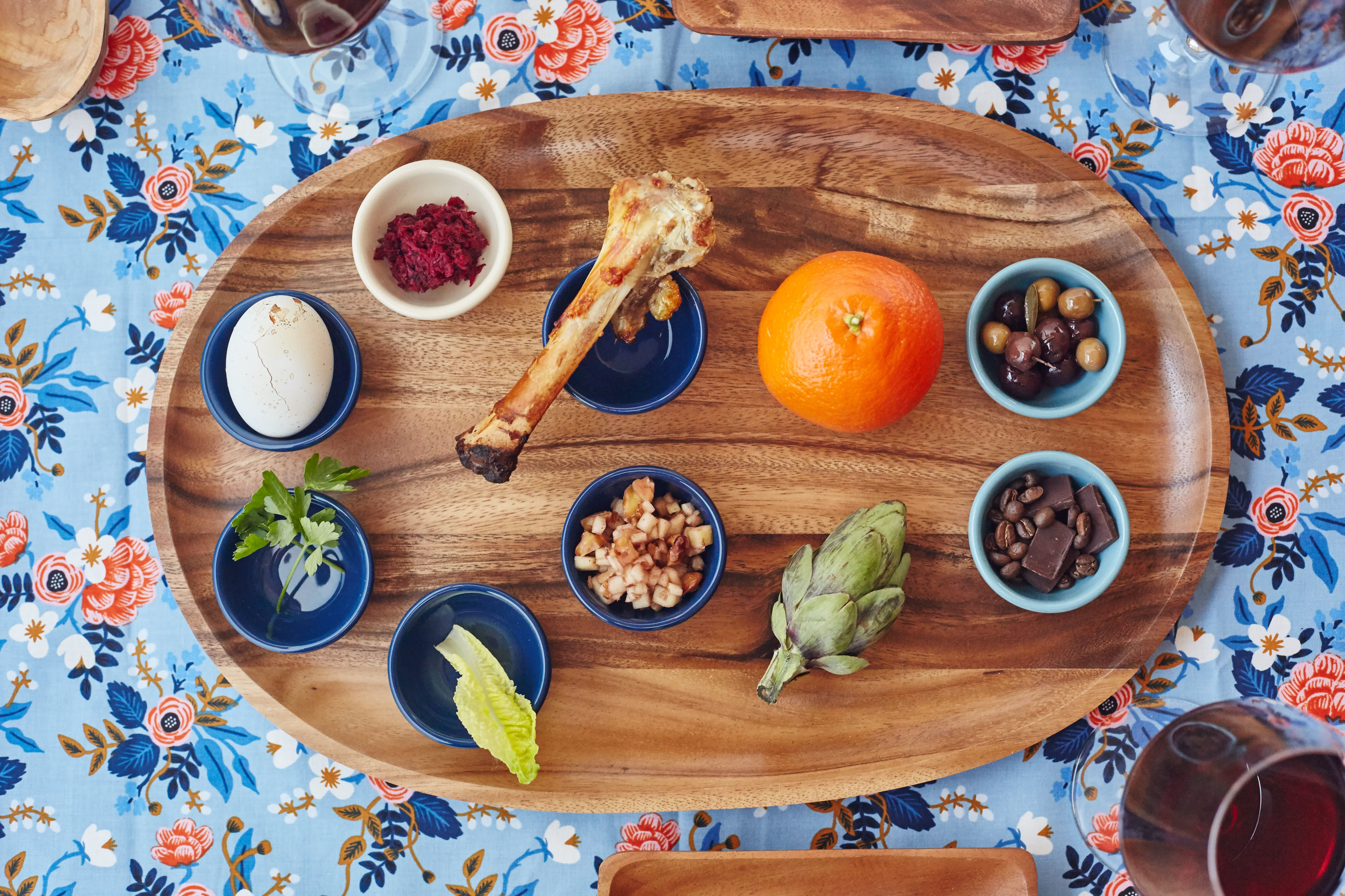 Update The Traditional Seder Plate Here S How With