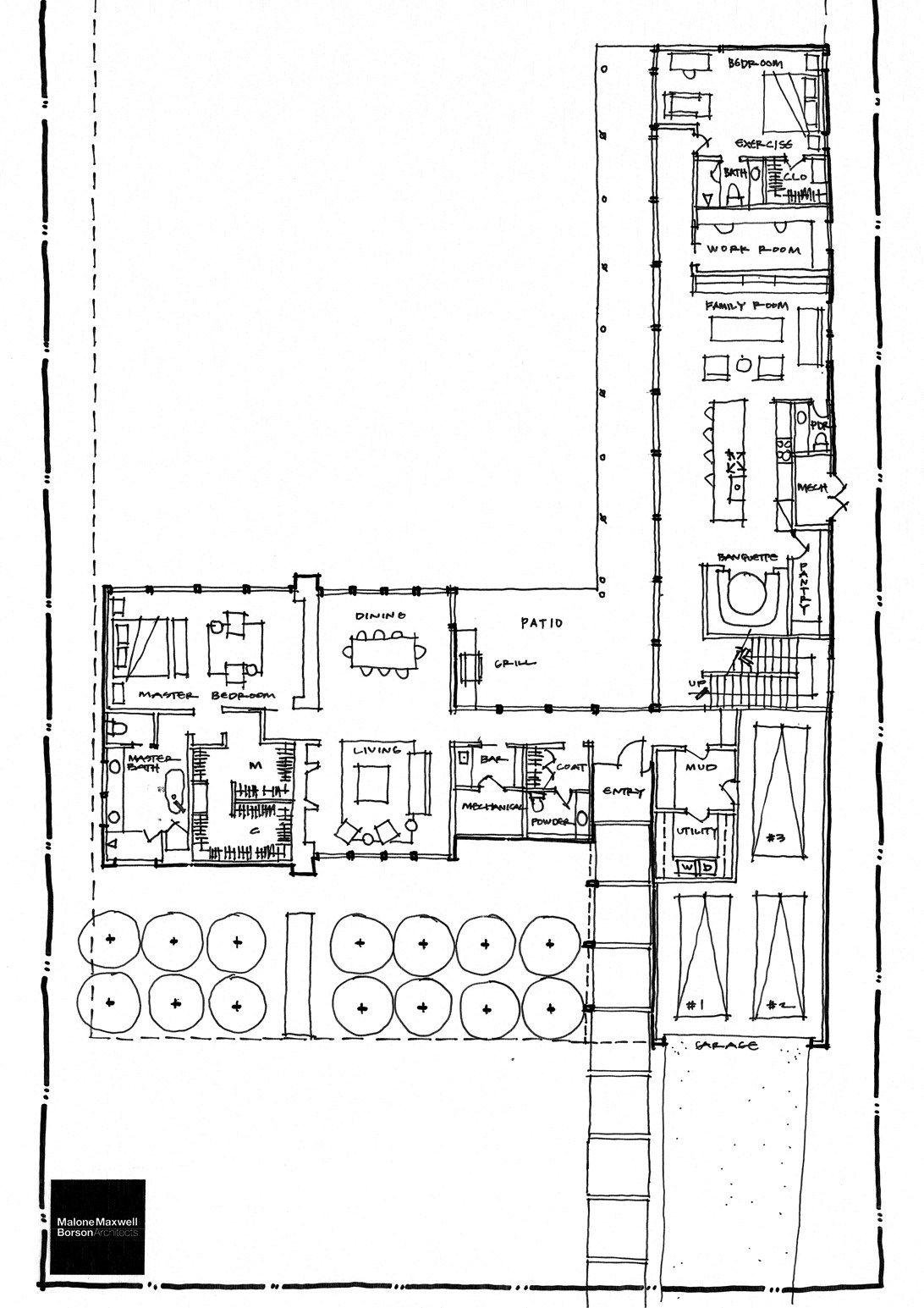 Sketching During Schematic Design Schematic Design Architecture Floor Plans