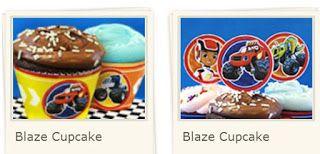 Blaze: Toppers y Wrappers para Cupcakes, para Imprimir Gratis.