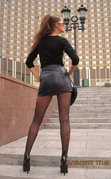 high legs skirt heels Woman mini long