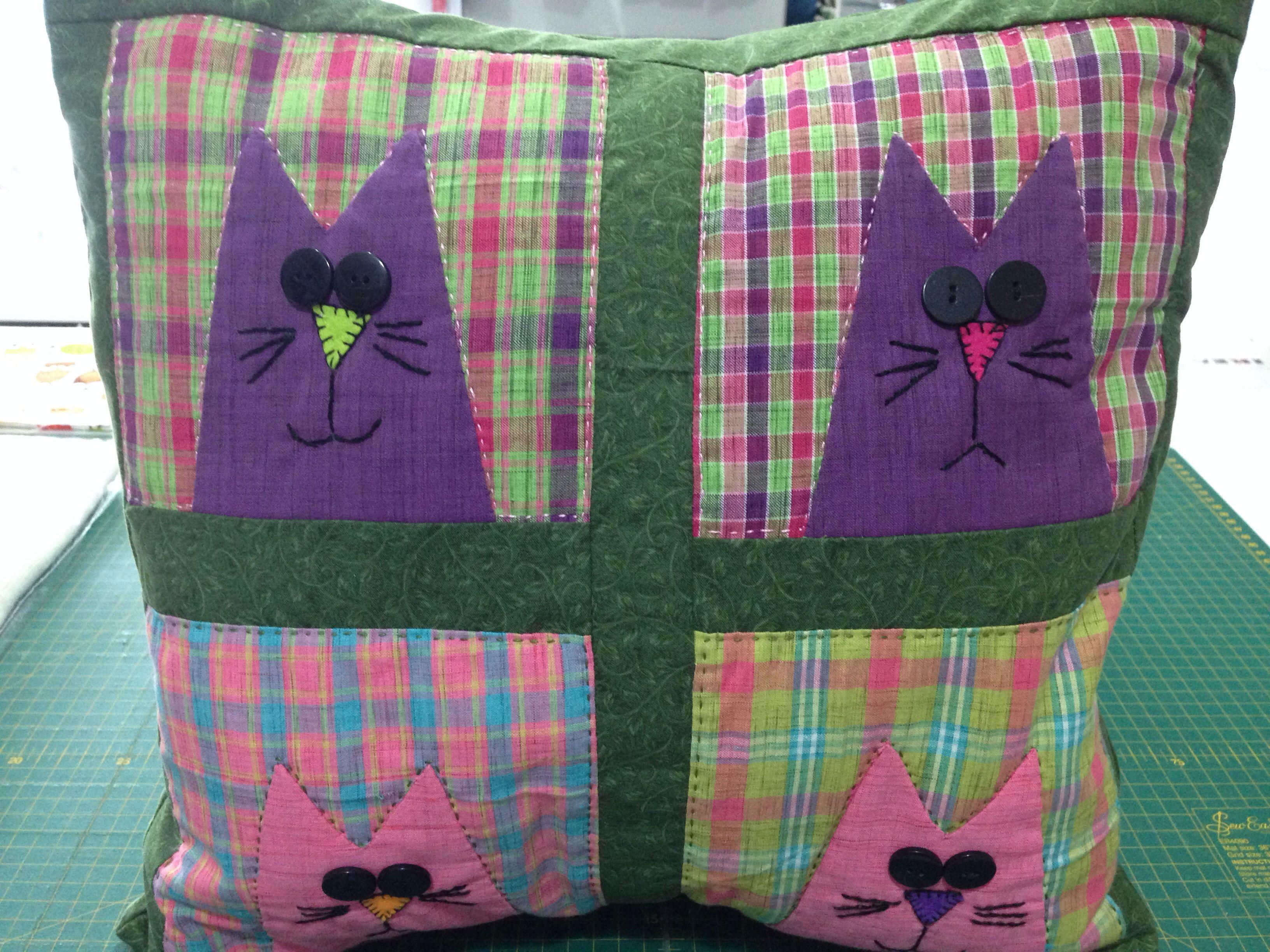 Cat pillow cat pillow pillows quilts