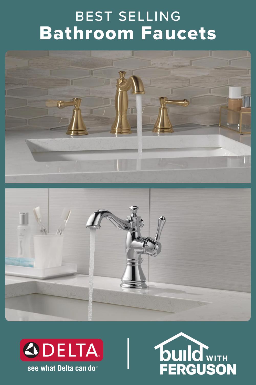 Popular Delta Bathroom Faucets In 2021 Delta Bathroom Faucets Bathroom Faucets Faucet