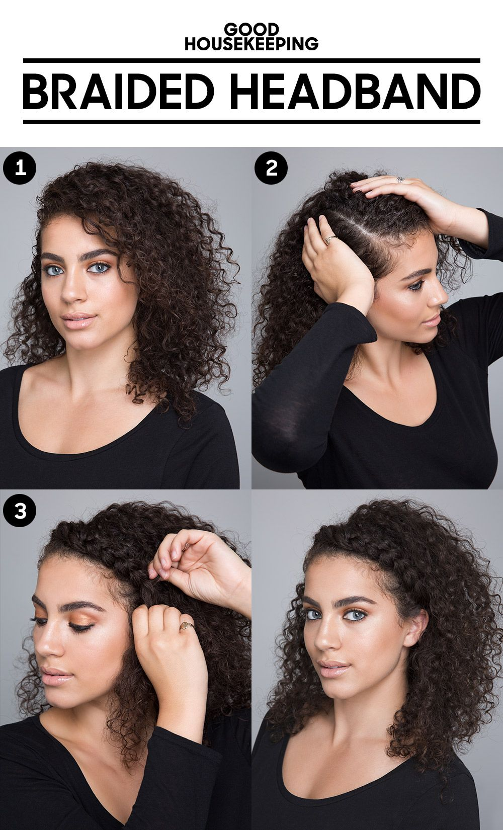 Tourmaline Ceramic Curling Wand Curly Hair Tips Curly