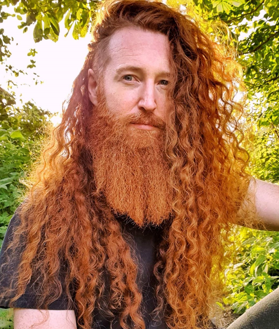 Man With Long Ginger Hair Hair Styles Mens Hairstyles Undercut Long Hair Styles Men