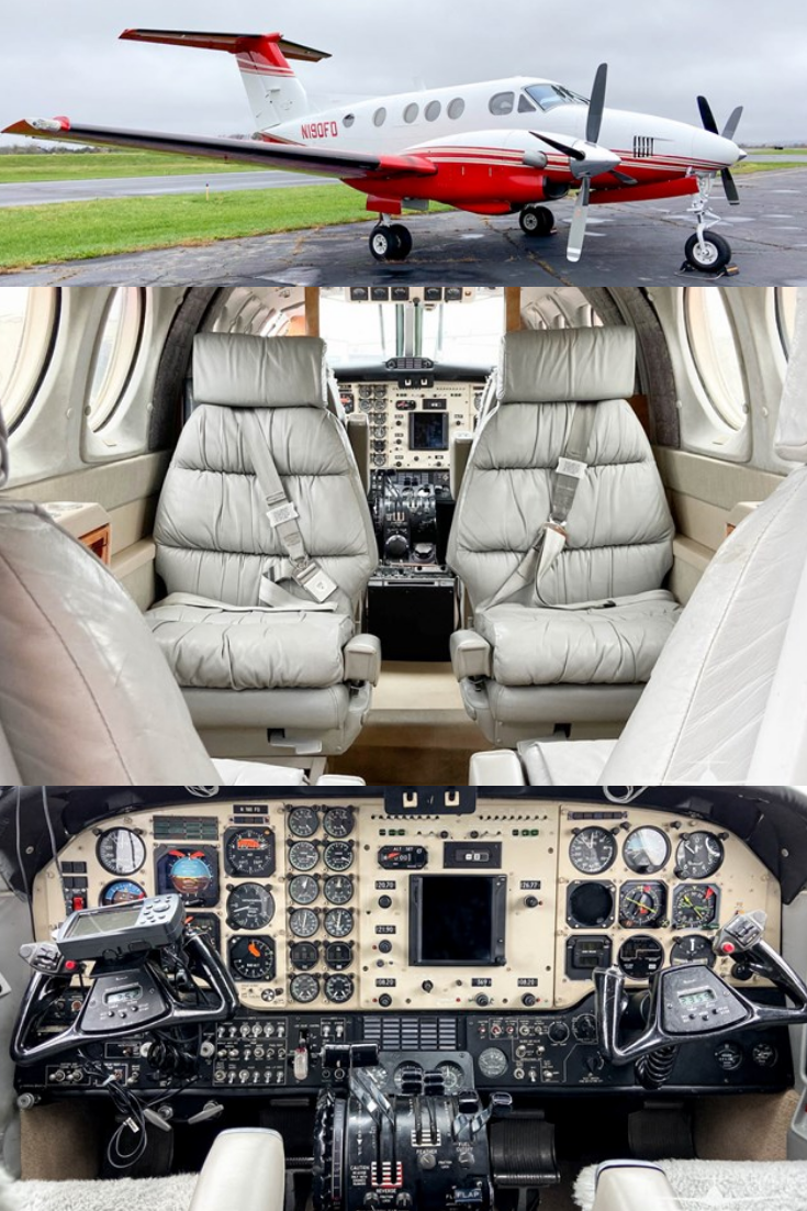 1980 King Air F90 for Sale Luxury private jets, Airplane