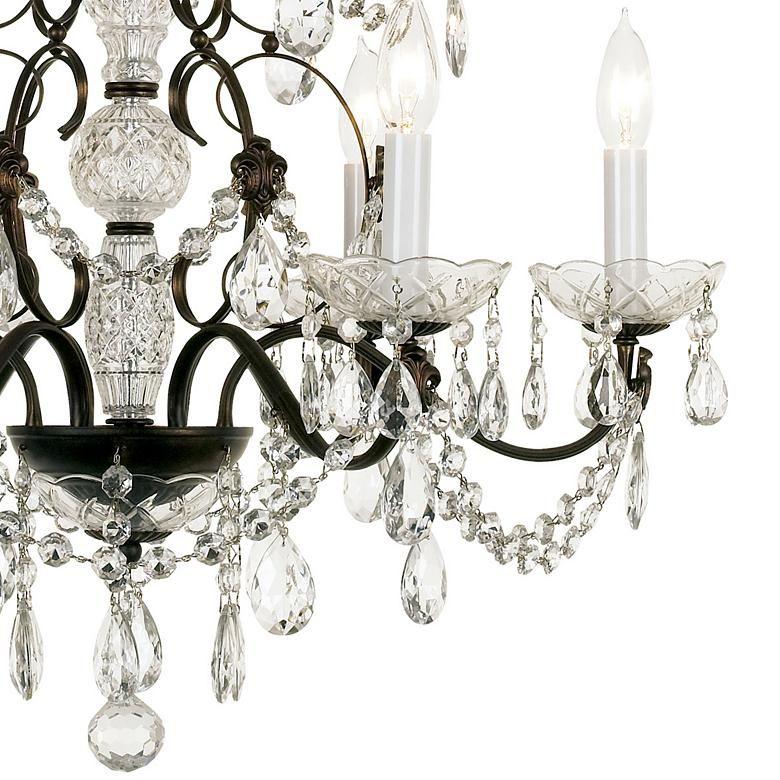 Schonbek Madison 24 W 6 Light Crystal Chandelier 50087 Lamps