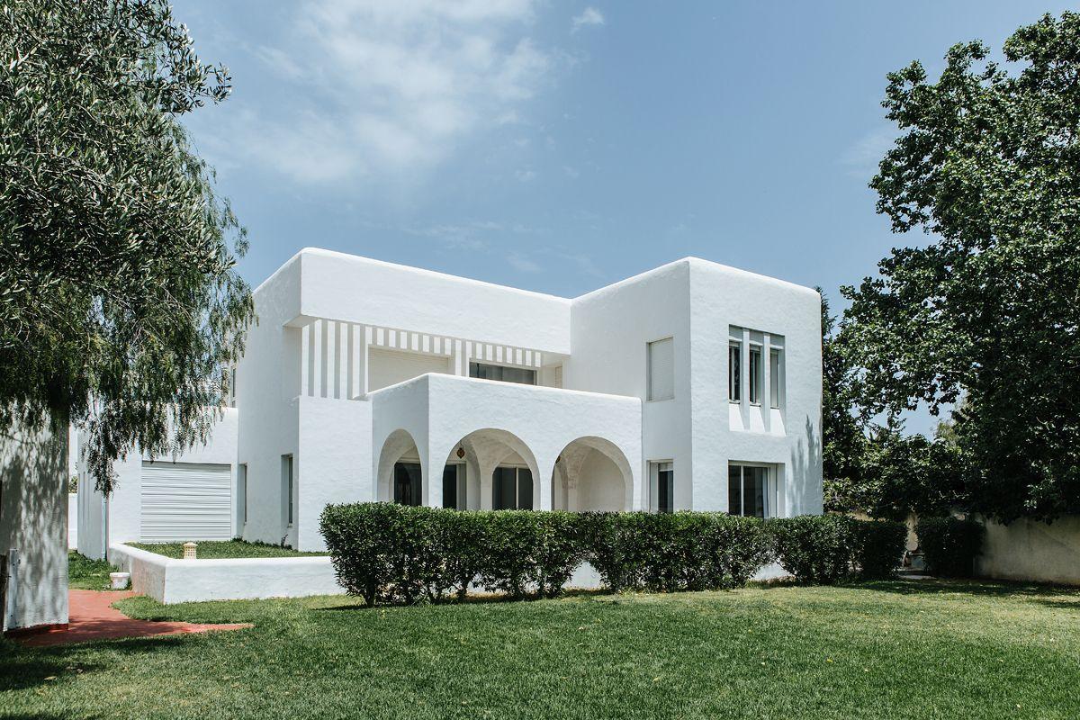 La Villa Bianca Signee Med In Concept Facade Maison Maison