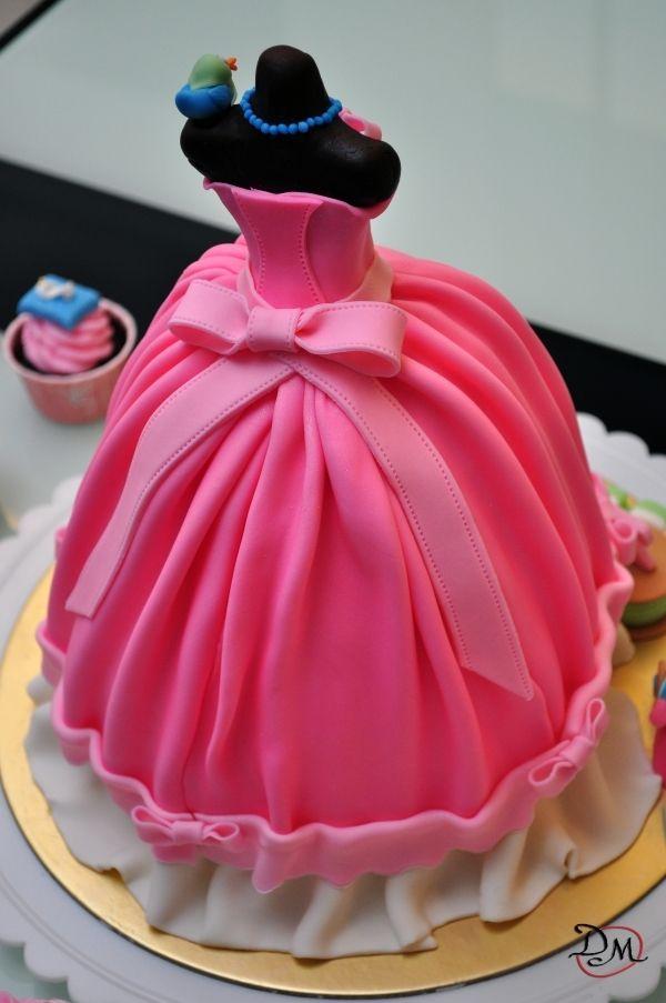 Cinderella Cake Barbie Cake Girl Cakes Birthday Cake Girls