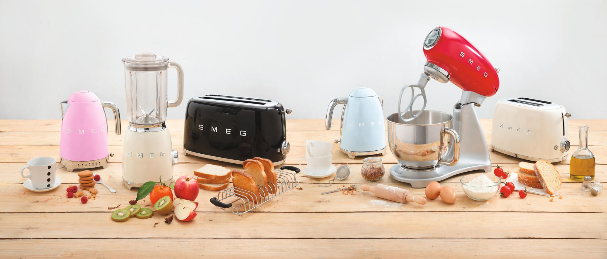 Smeg 50 Colorfull Small Appliances